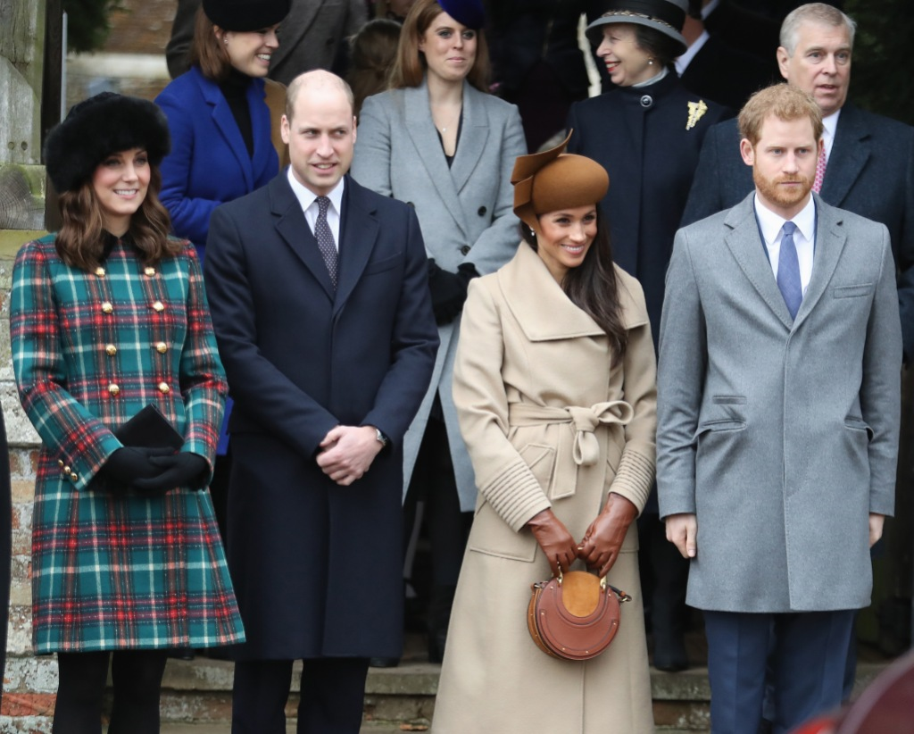 Prince Harry, Meghan Markle, Kate Middleton, and Prince William