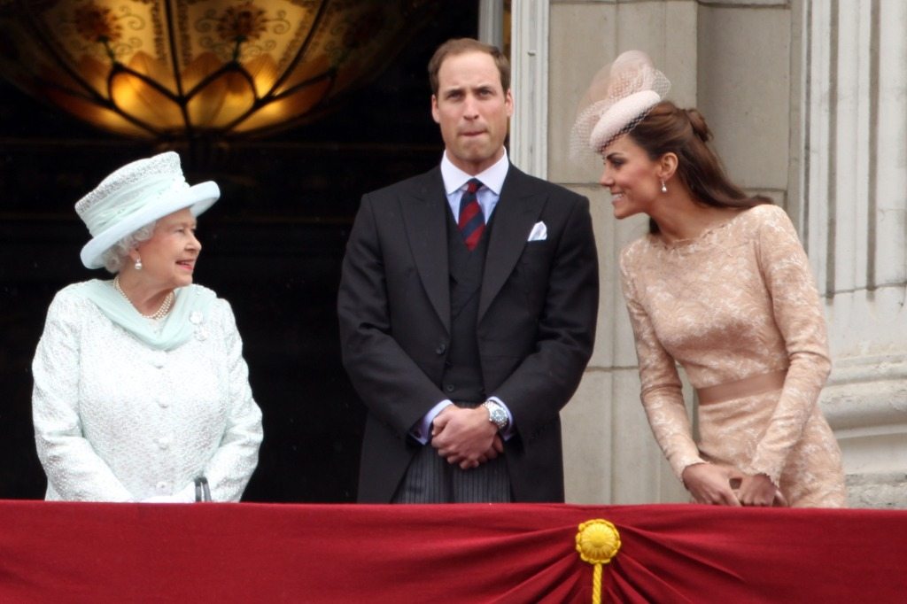 Kate, William, Elizabeth