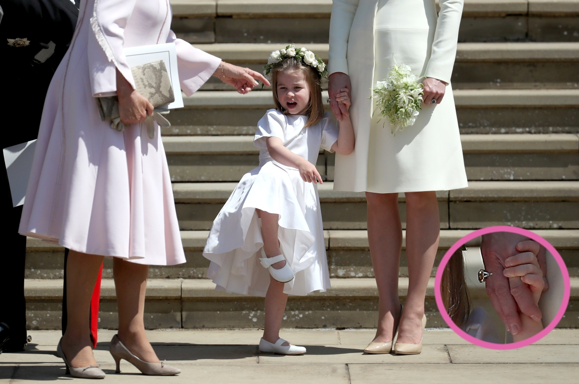 kate middleton ring getty images