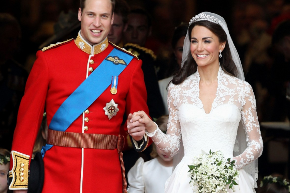 kate middleton prince william wedding getty images