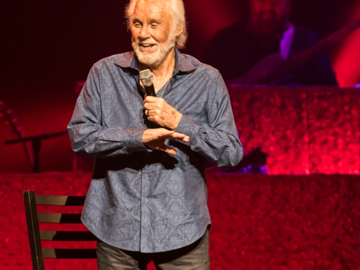 kenny rogers getty images