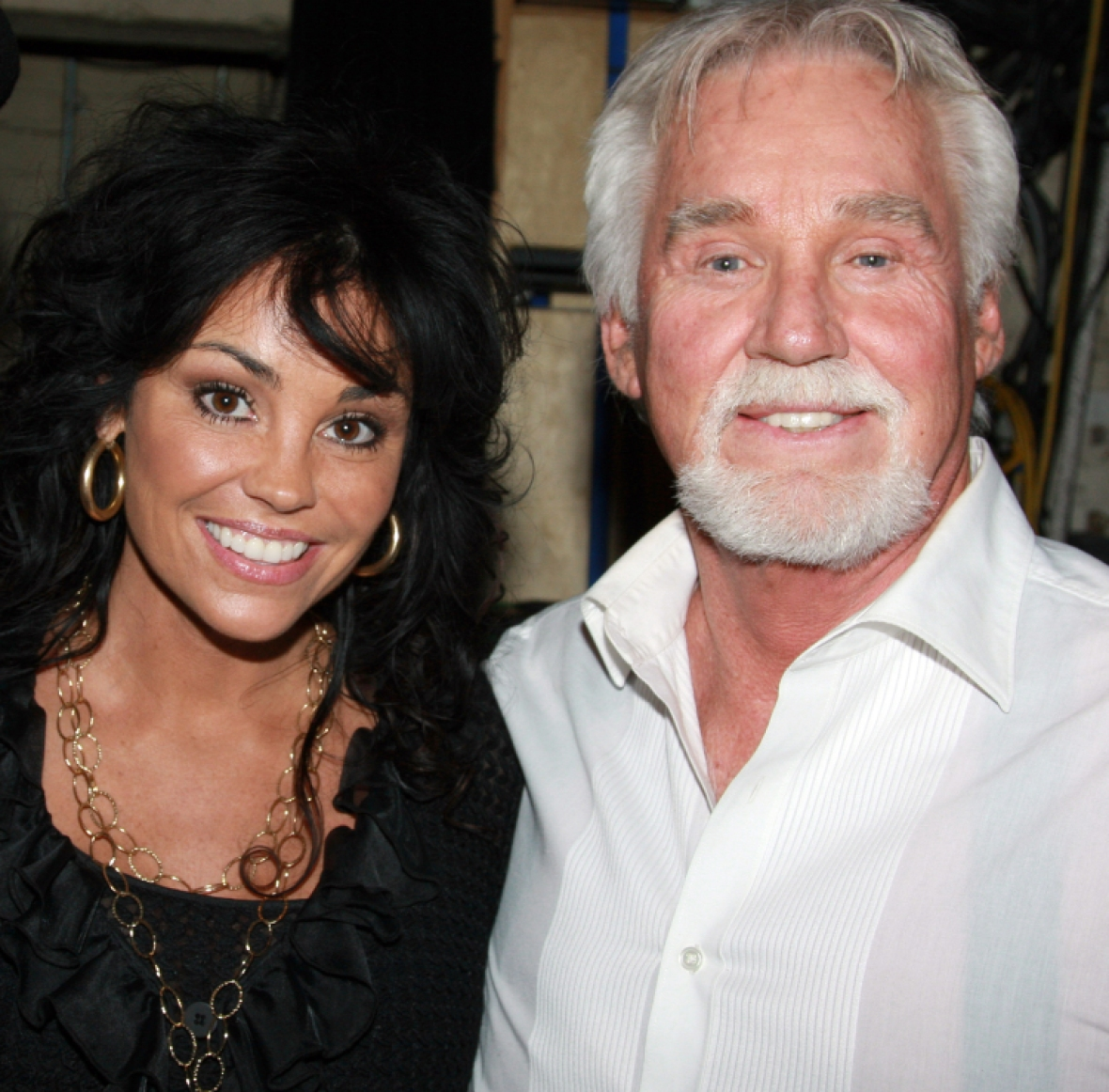 kenny rogers wife getty images