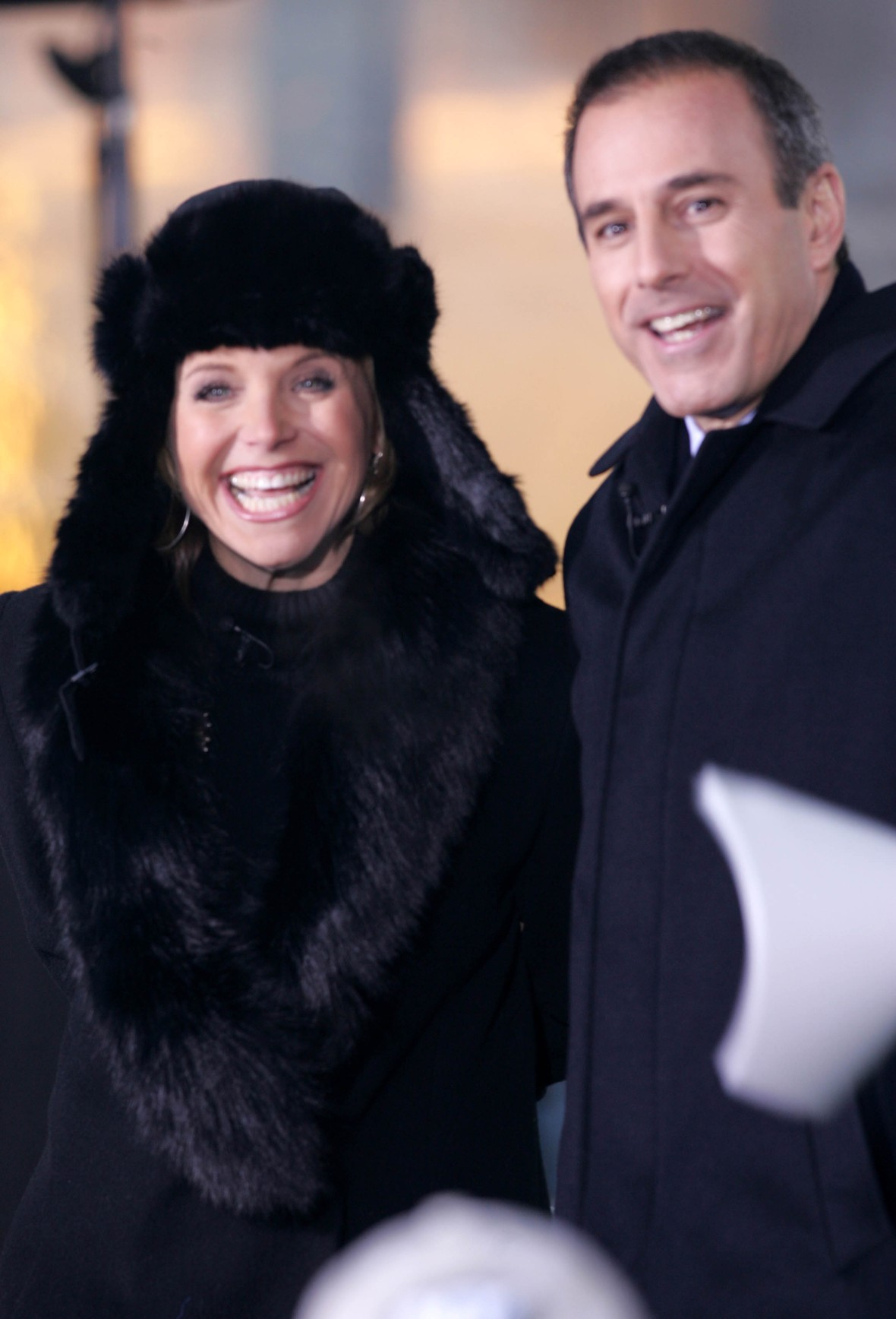katie couric matt lauer getty images