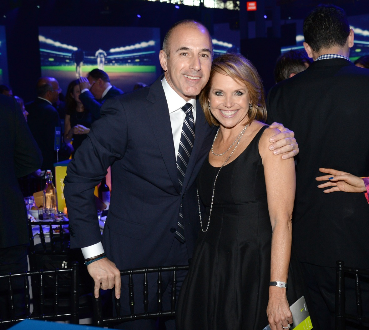 matt lauer katie couric getty images