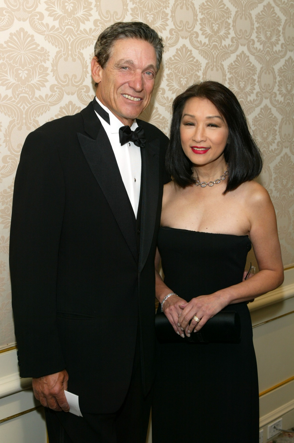 maury povich and connie chung getty images