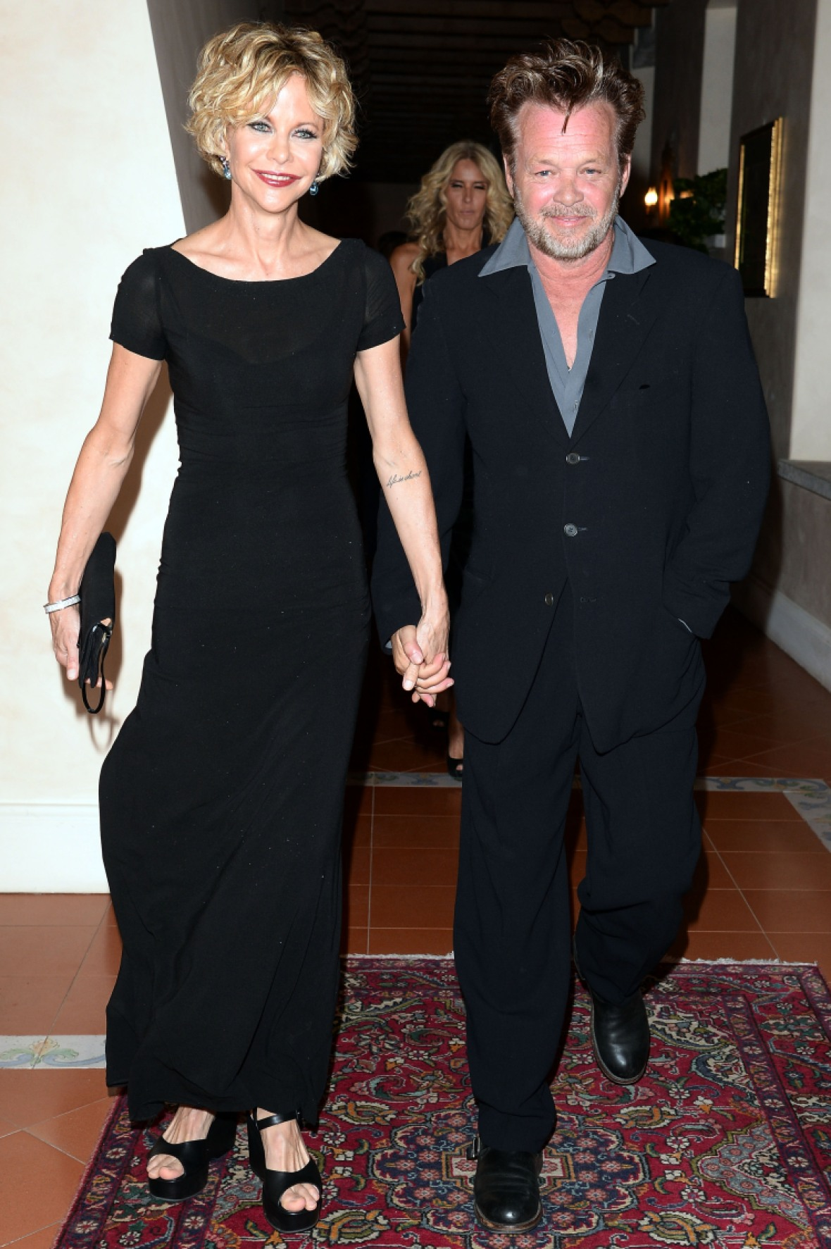 meg ryan john mellencamp getty images