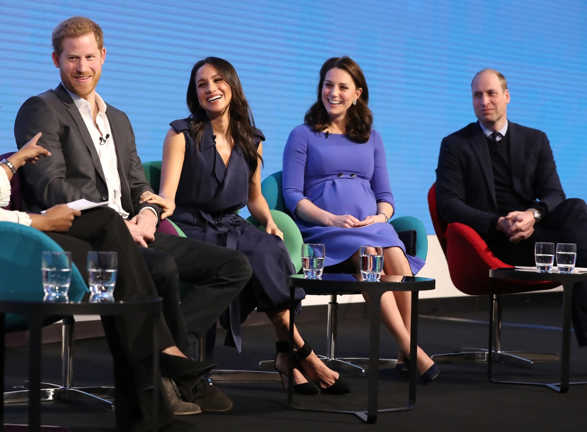 meghan kate harry and william getty images