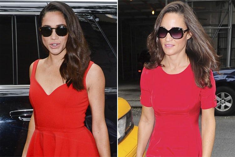 meghan-markle-pippa-middleton-red-dress