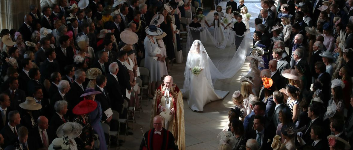 meghan markle wedding getty images