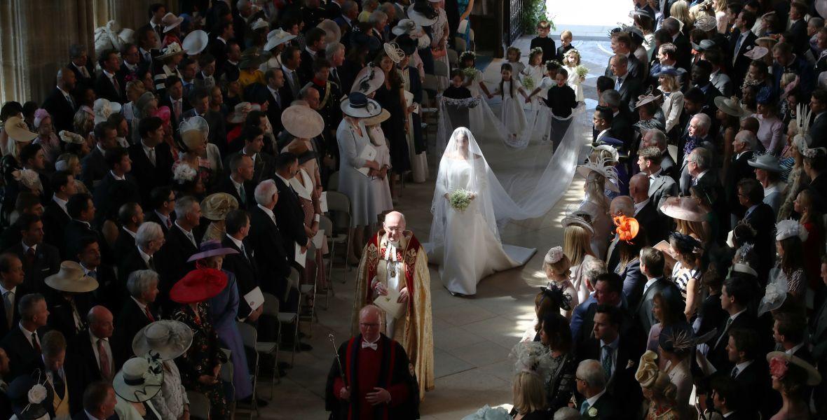 meghan markle wedding getty images