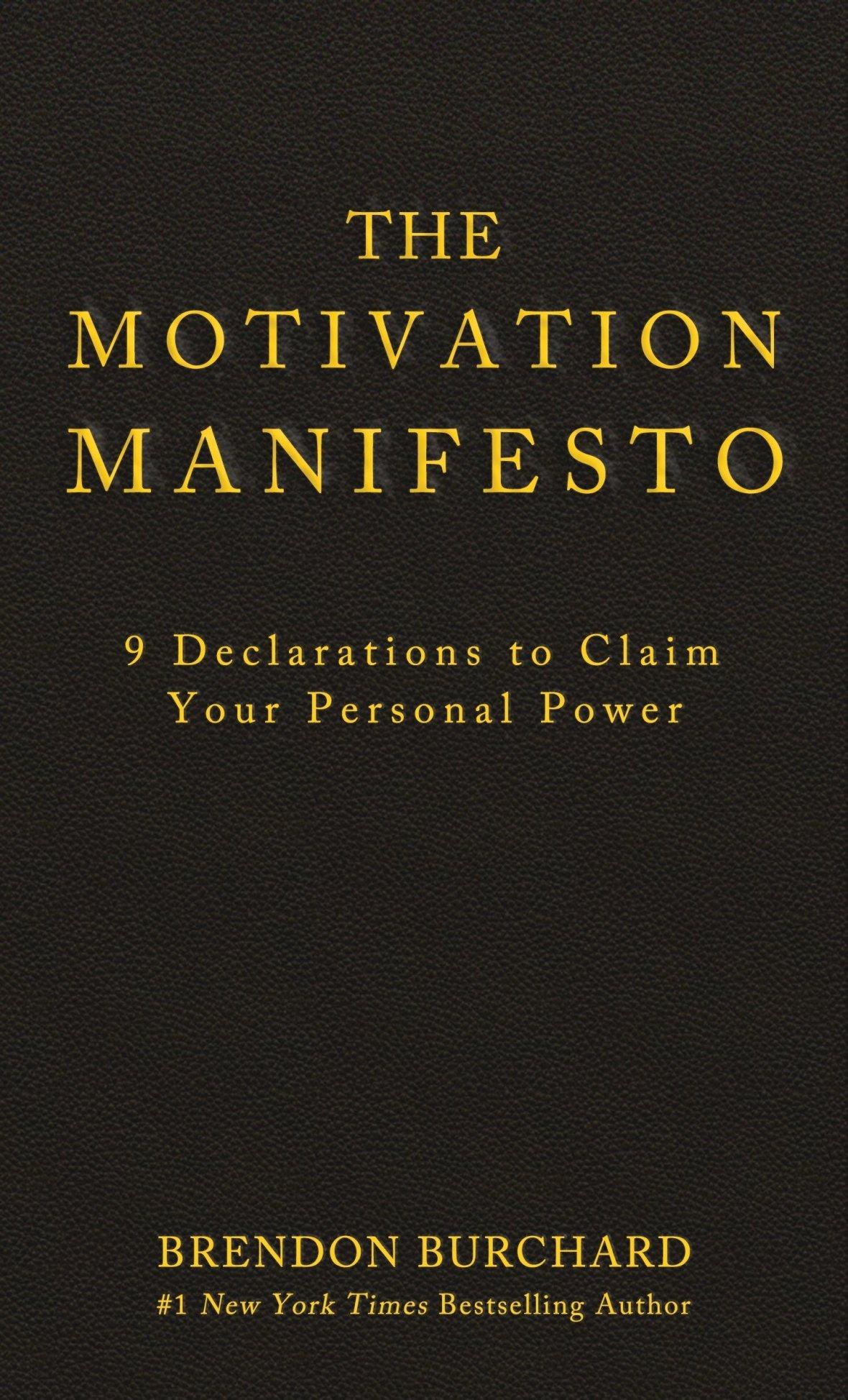 the motivation manifesto r/r