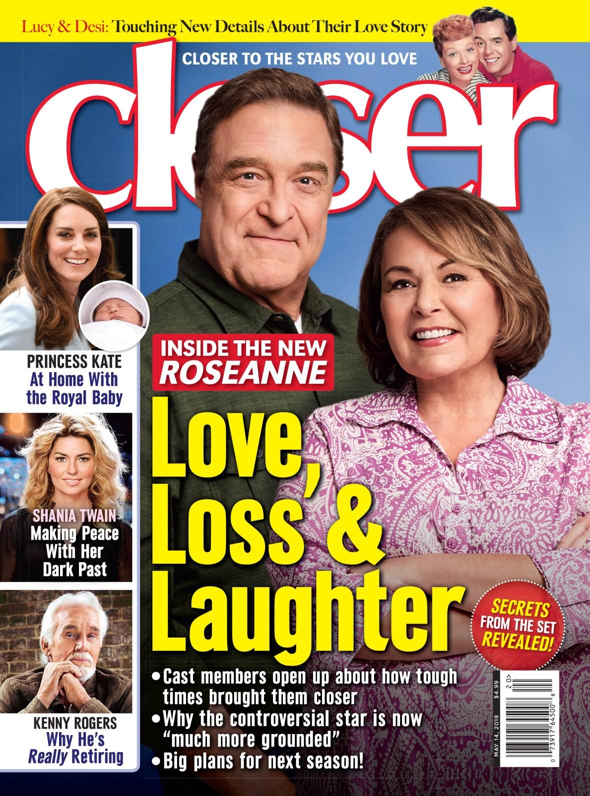 'roseanne' closer cover