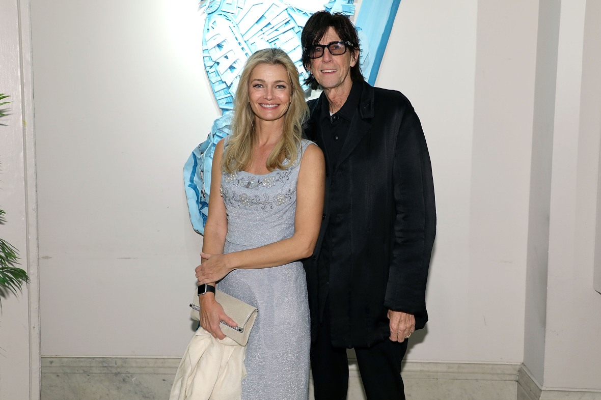 paulina porizkova and ric ocasek getty images
