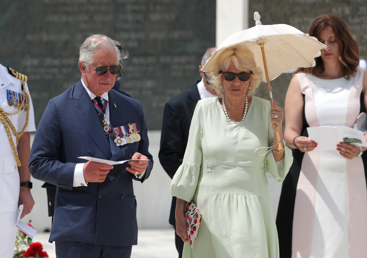 prince charles and camilla getty