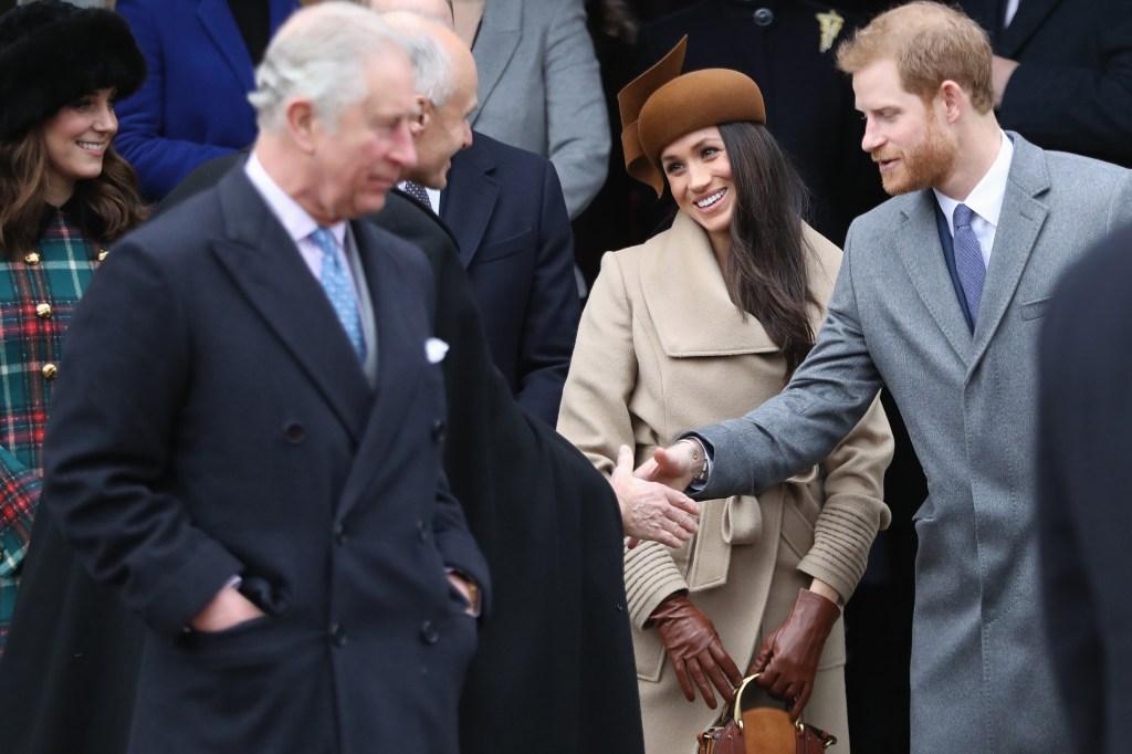 prince charles meghan markle prince harry