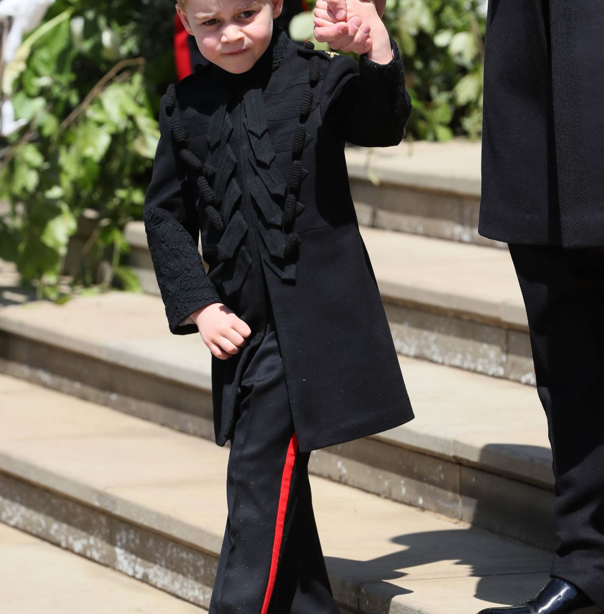 prince george royal wedding getty images