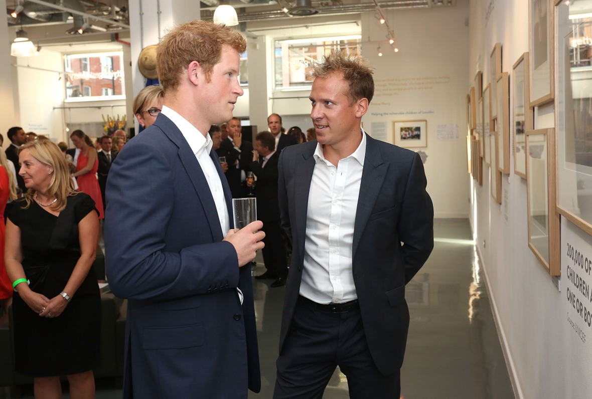 prince harry and chris jackson getty images