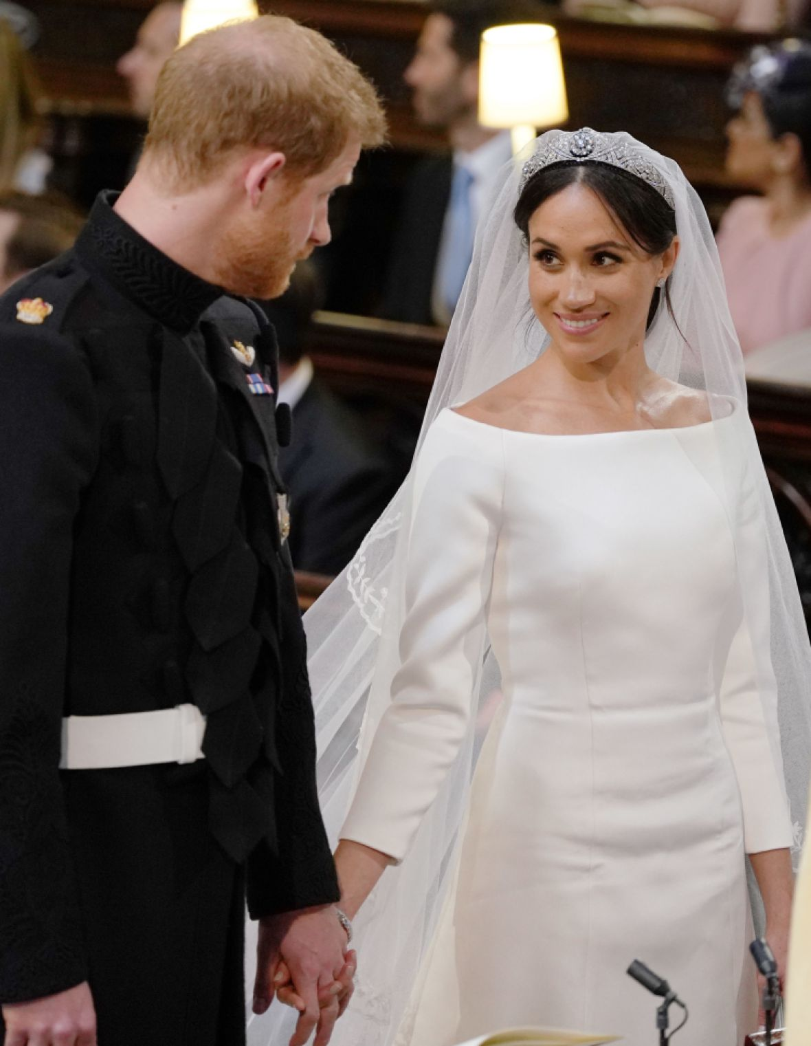 prince harry meghan markle altar getty images