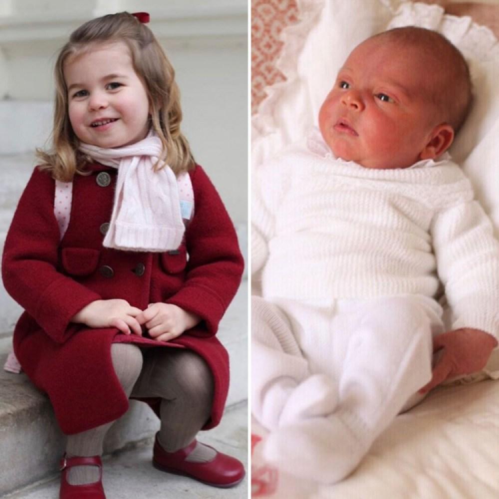 princess charlotte prince louis instagram