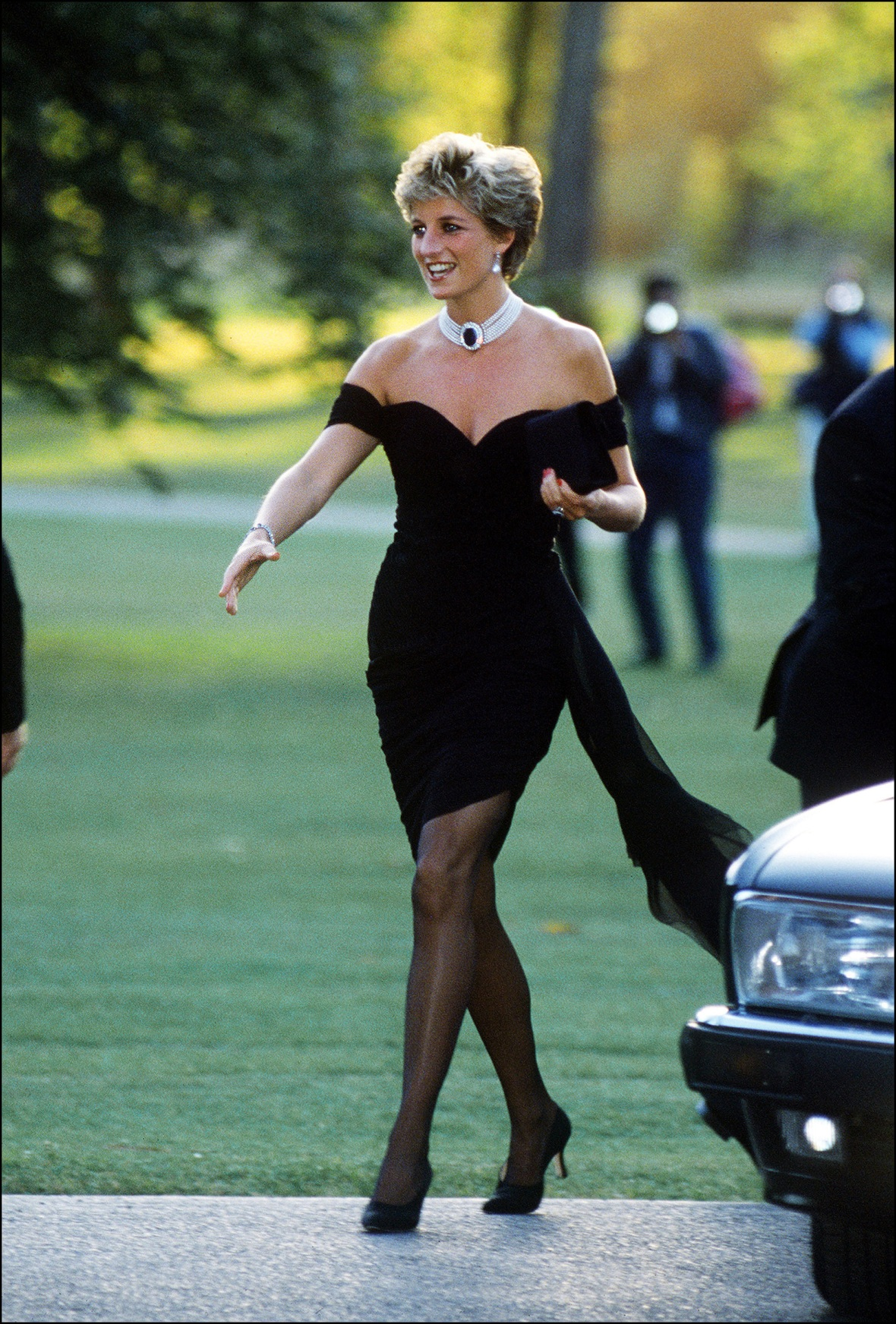 princess diana 'revenge dress' getty