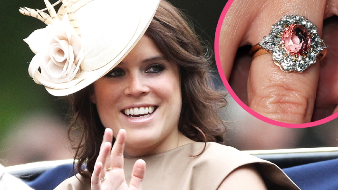 princess eugenie engagement ring getty images