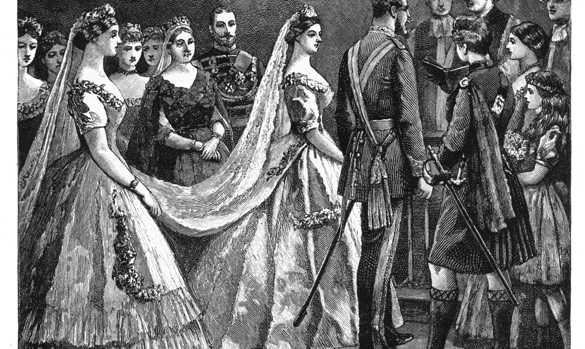 princess helena's wedding getty images