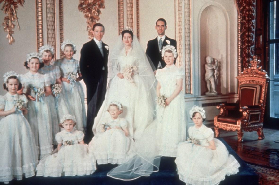 princess margaret's wedding getty images