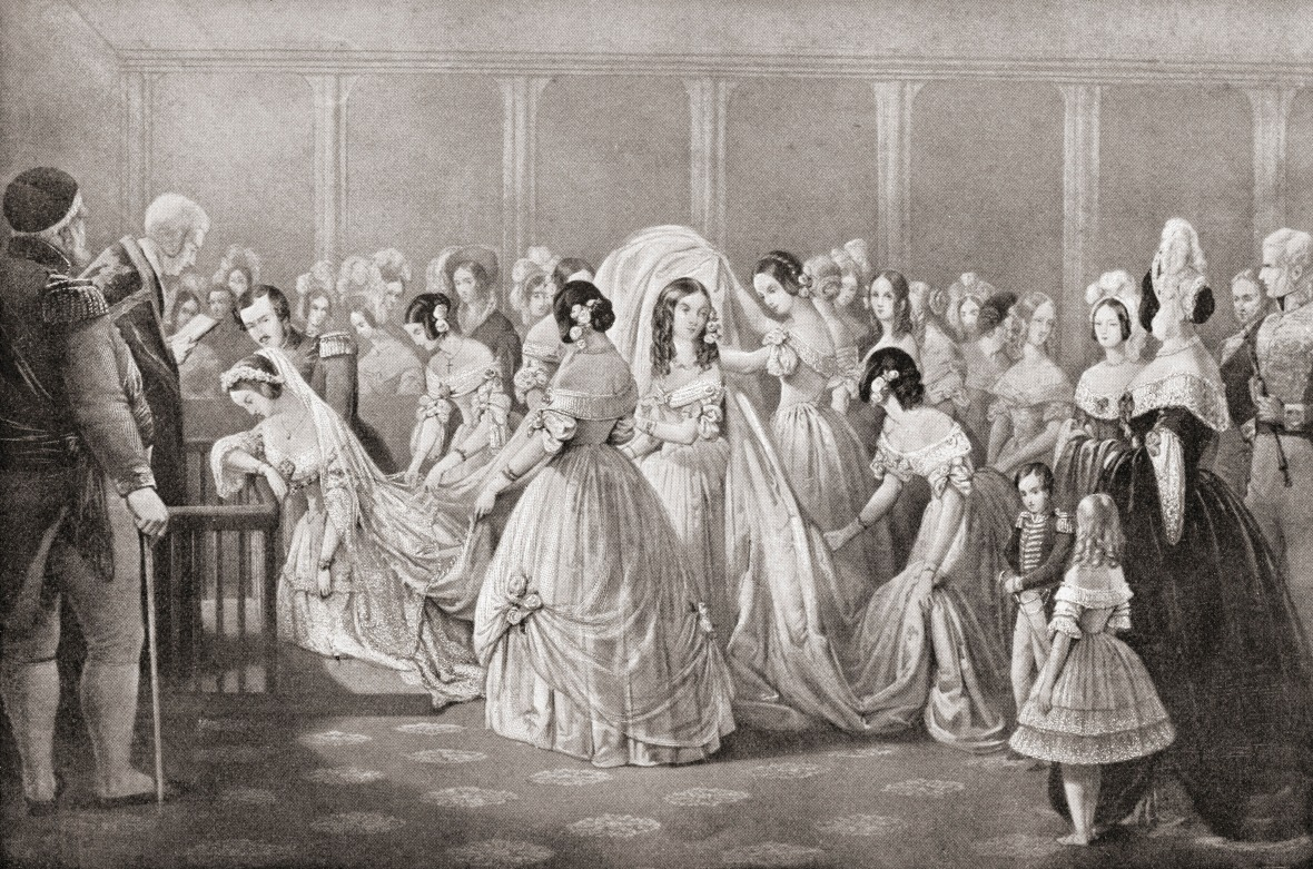 queen victoria's wedding getty images