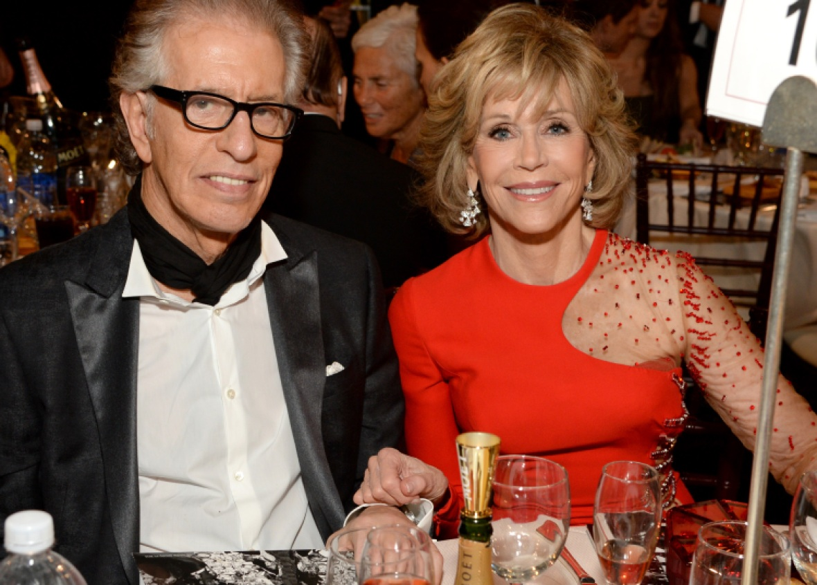 richard perry jane fonda getty images