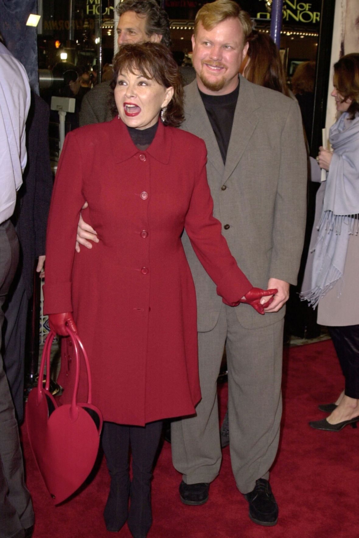 roseanne barr and ben thomas