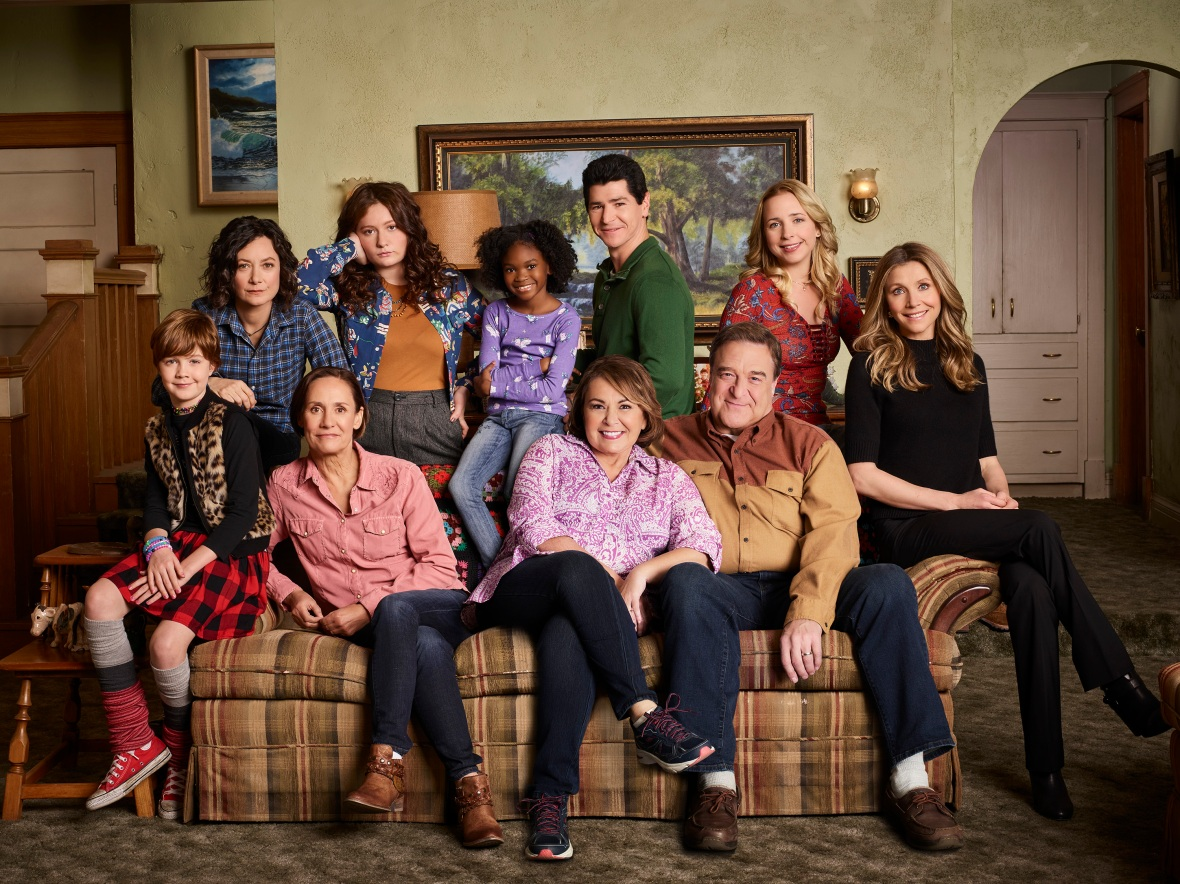 'roseanne' reboot getty images