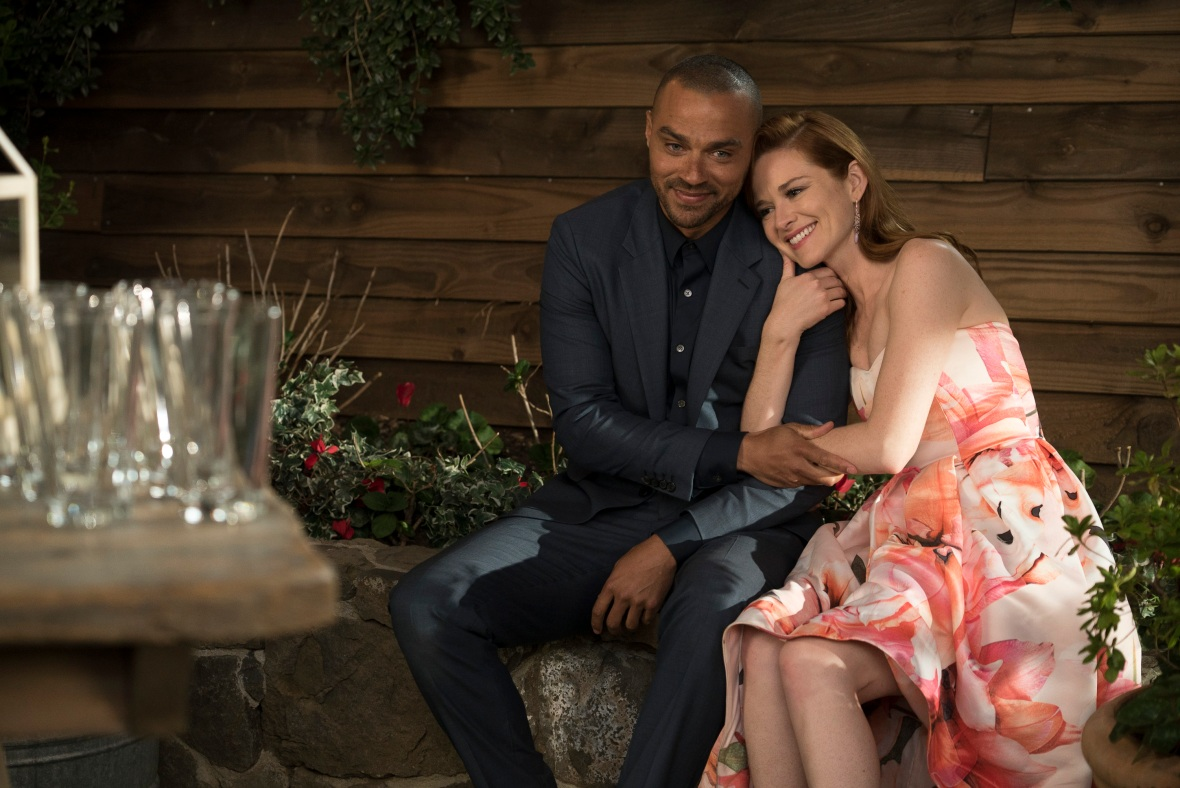 sarah drew 'grey's anatomy' getty images