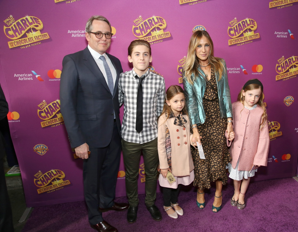 sarah jessica parker family getty