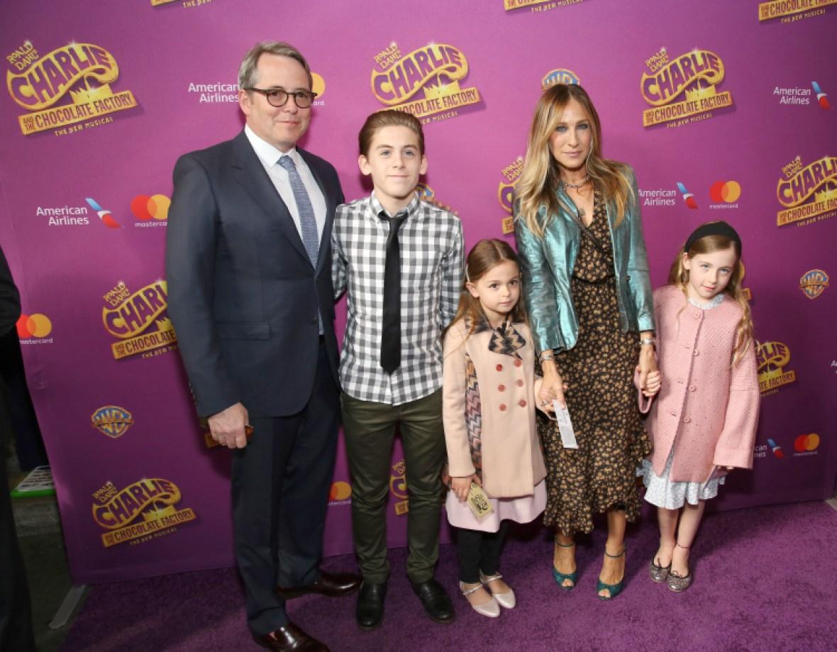 sarah jessica parker family getty