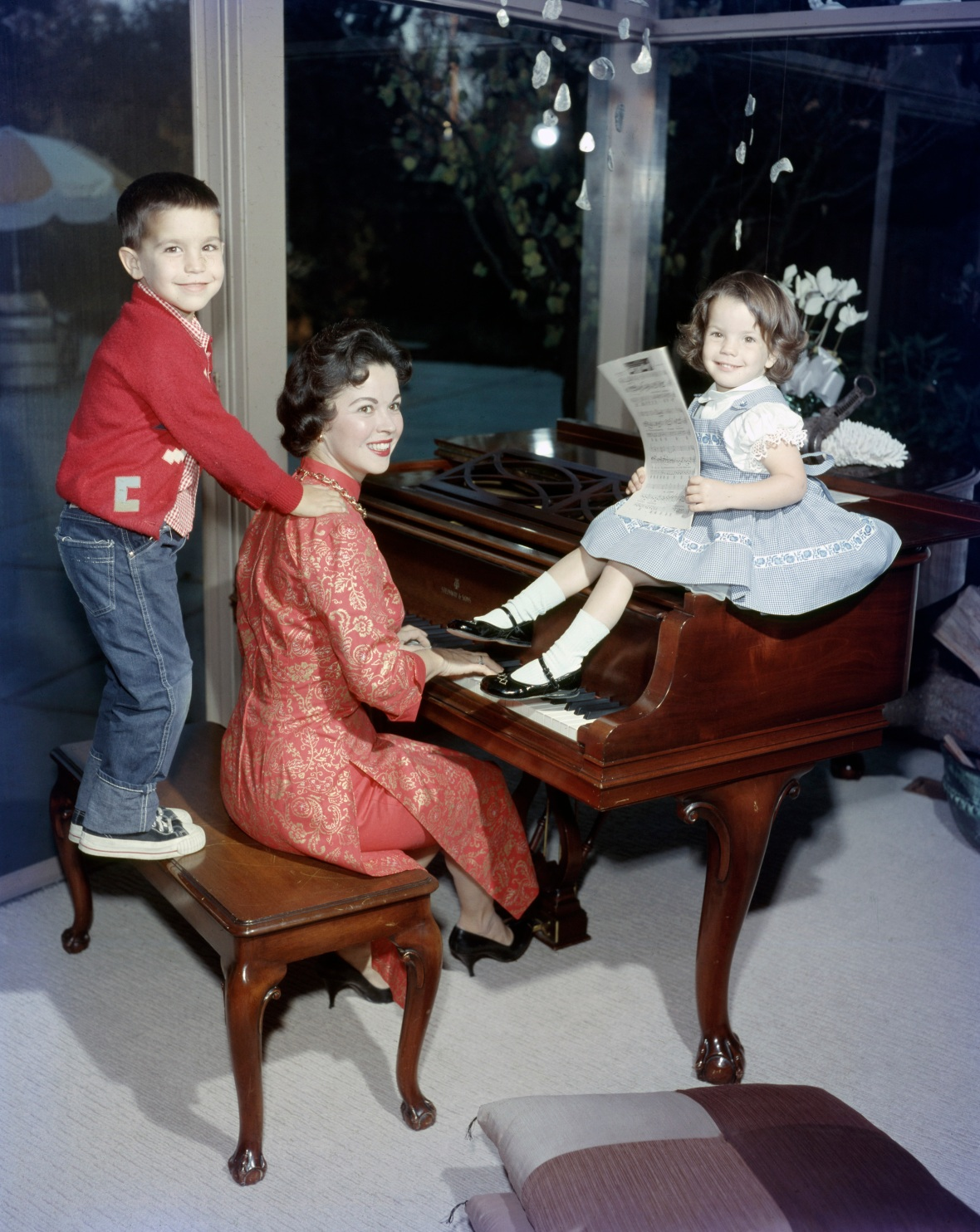 shirley temple family getty images