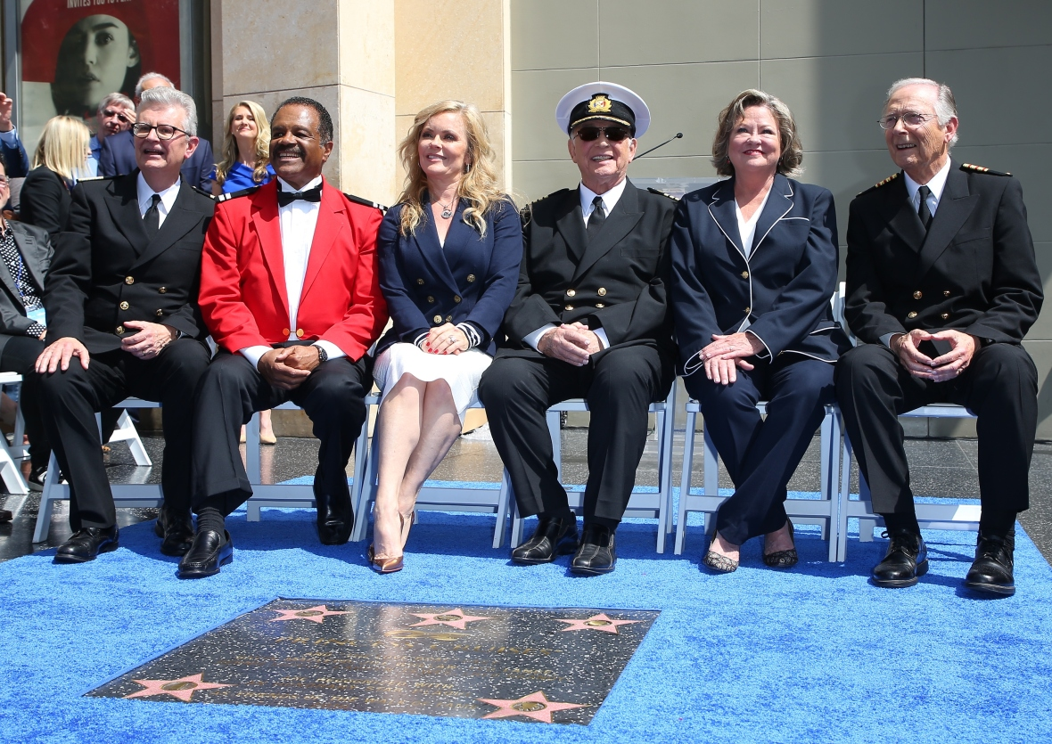 'the love boat' reunion getty images