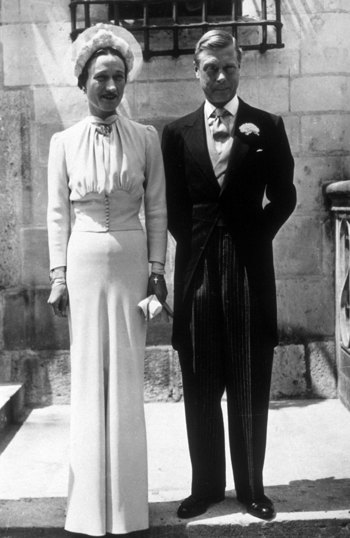 wallis simpson's wedding getty images