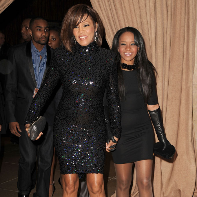 whitney houston and bobbi kristina getty images