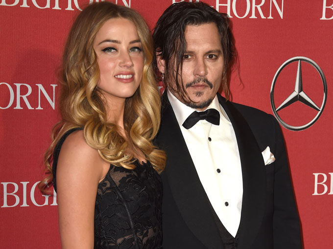 amber heard and johnny depp - getty
