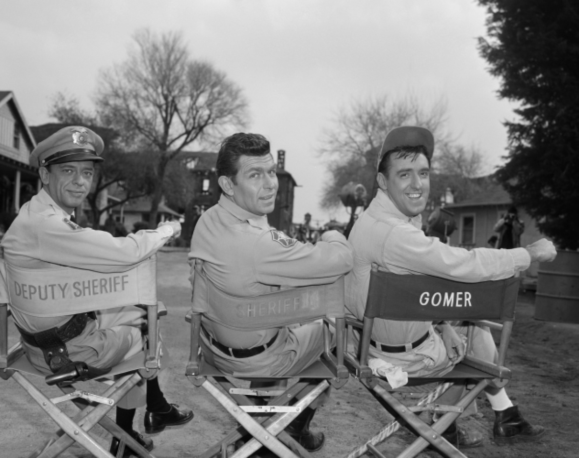 andy griffith don knotts getty images