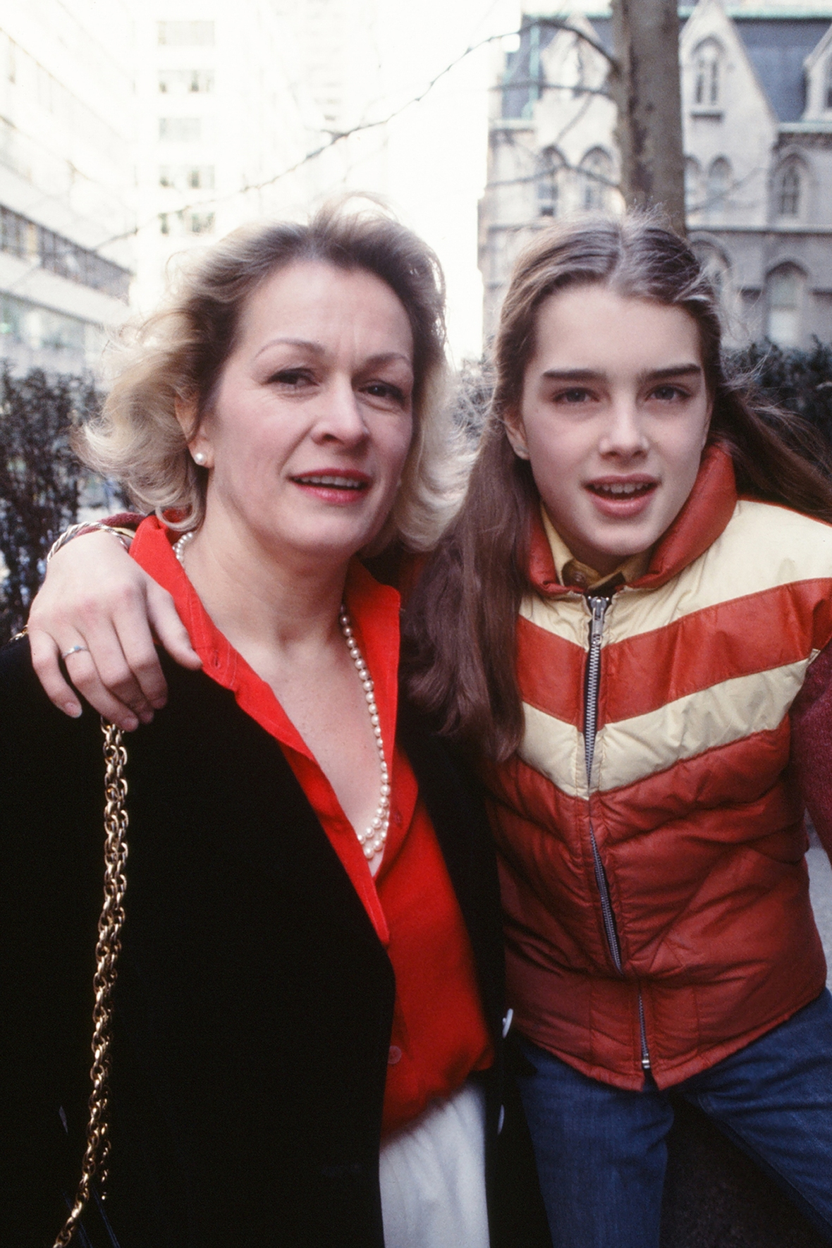 brooke shields and her mother