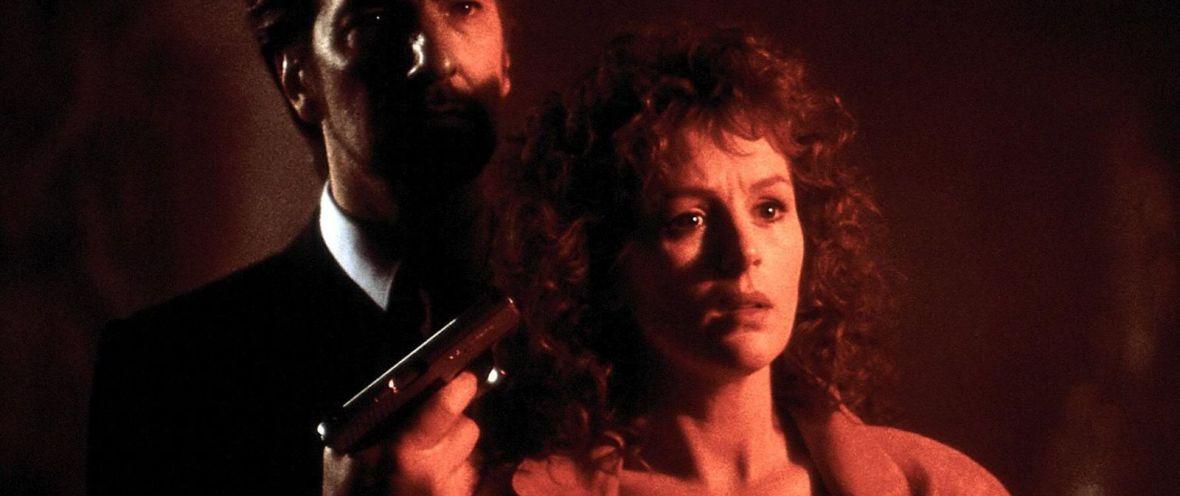 die hard - alan rickman and bonnie bedelia