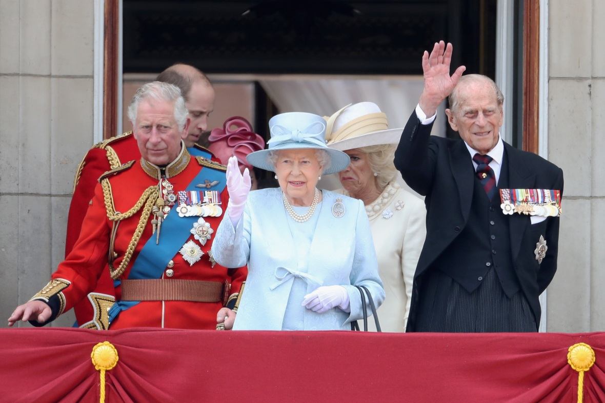 queen elizabeth with prince charles and philip getty images