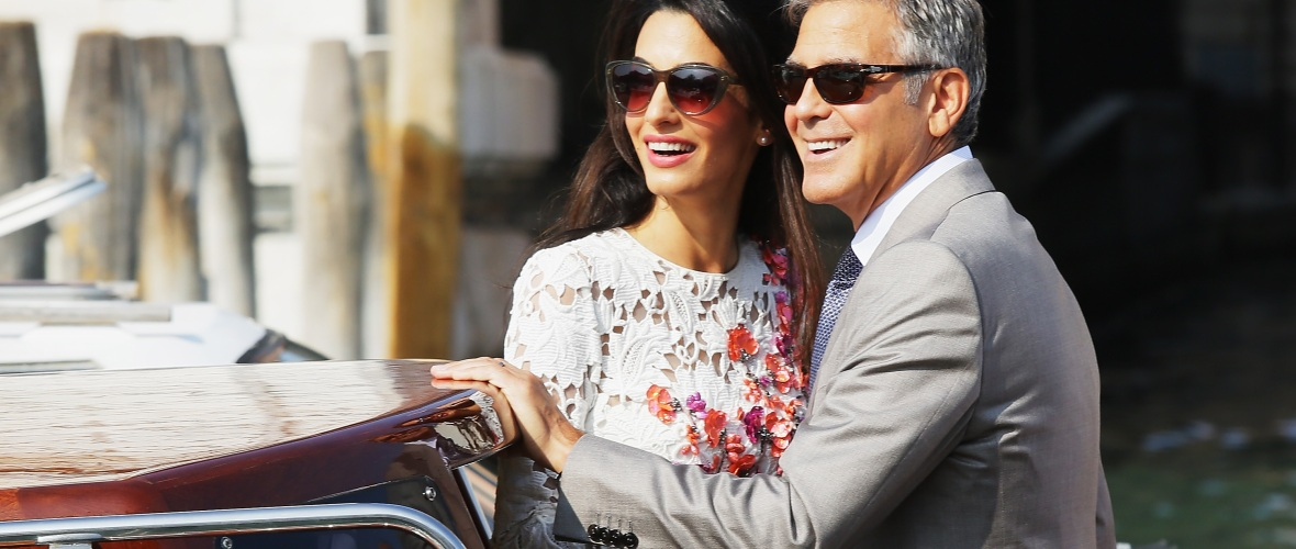 George Clooney And Amal Clooney's Twins Celebrate Their