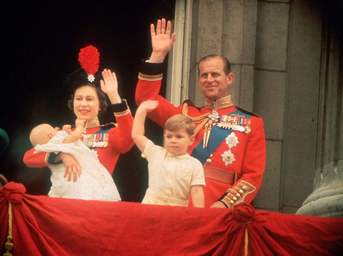queen elizabeth baby birth