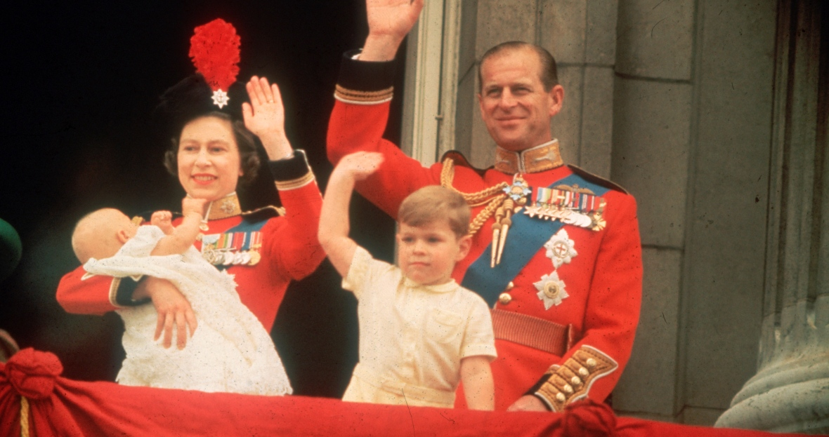 queen elizabeth baby birth