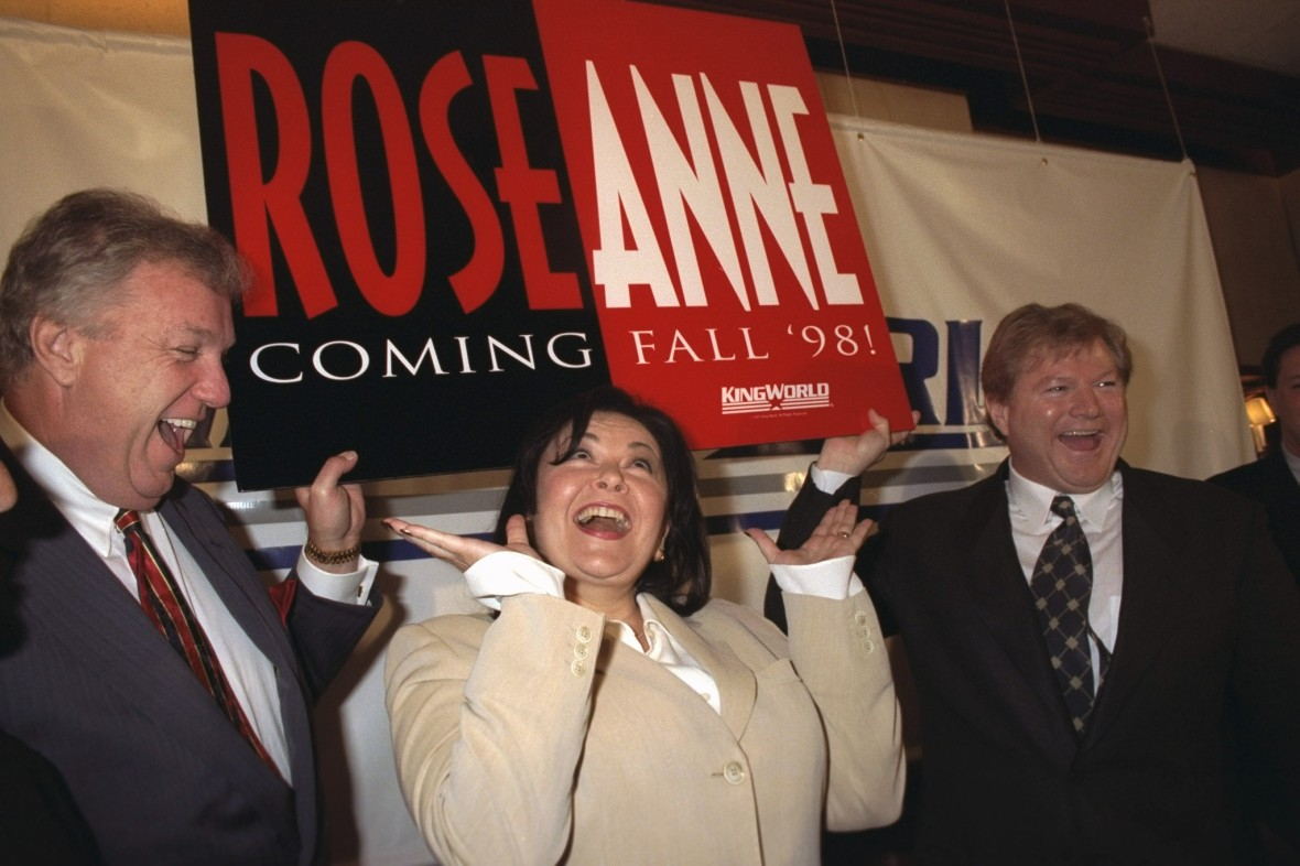 the roseanne barr show 1998