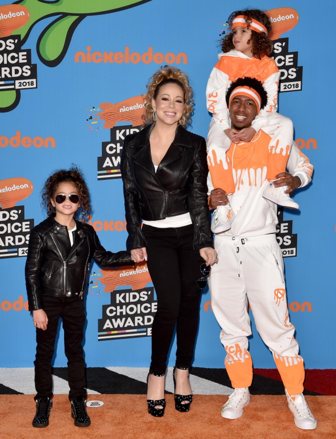 mariah carey, nick cannon family getty images