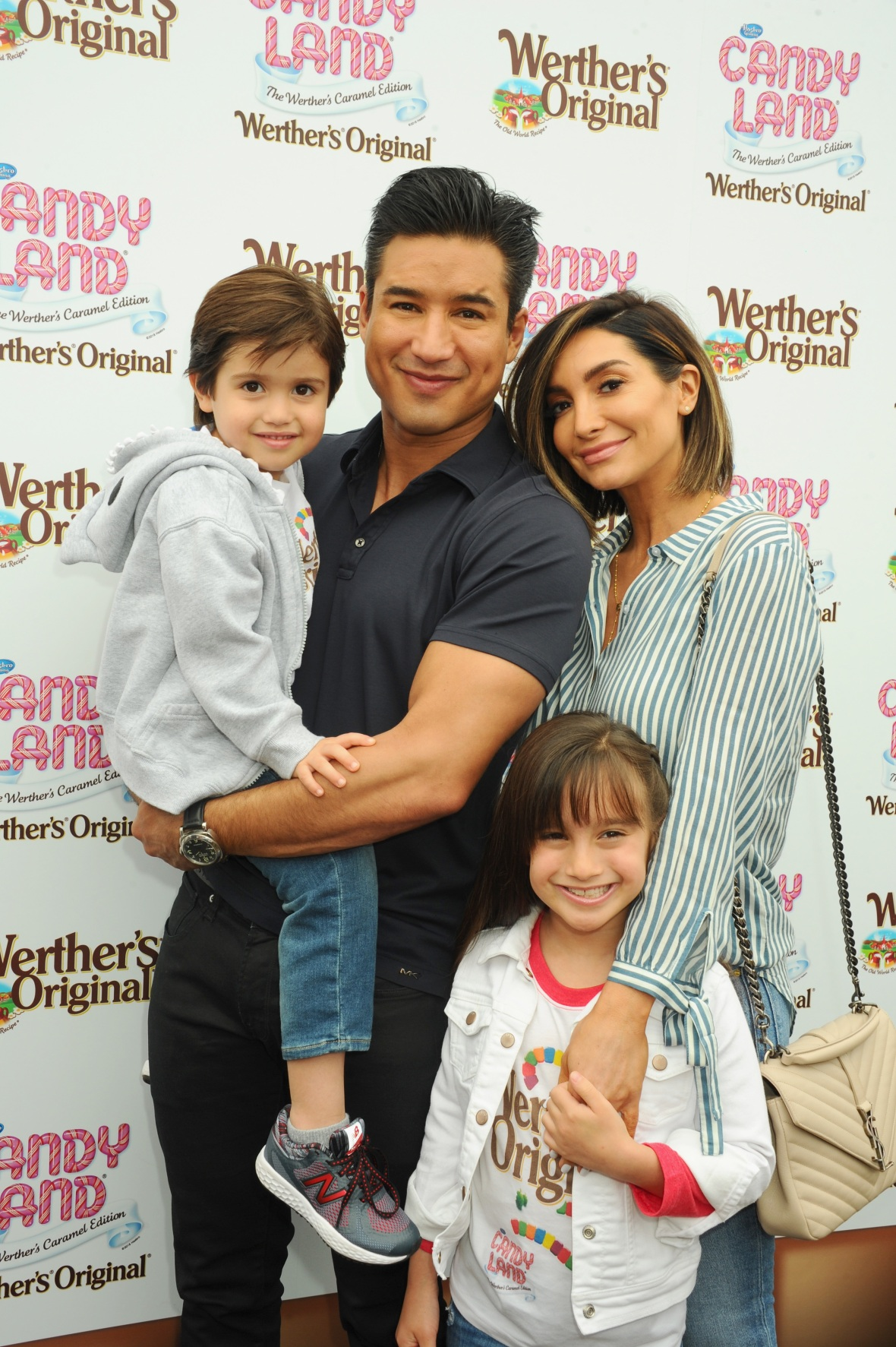 mario lopez's family getty images