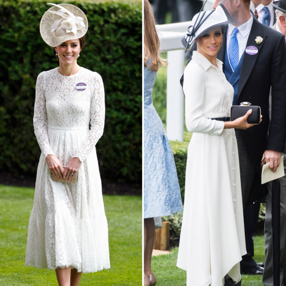 meghan markle kate middleton getty images